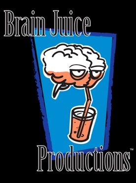 Brain Juice Productions logo and link